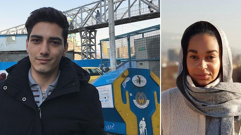 För studenten Siamak i Teheran har ekonomin inte förbättrats sedan kärnteknikavtalet skrevs under. Foto: Palmira Koukkari Mbenga/Sveriges Ra