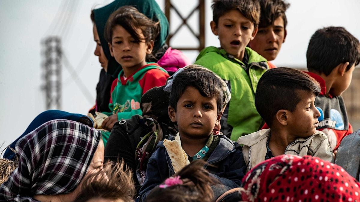 Kurdiska flyktingar