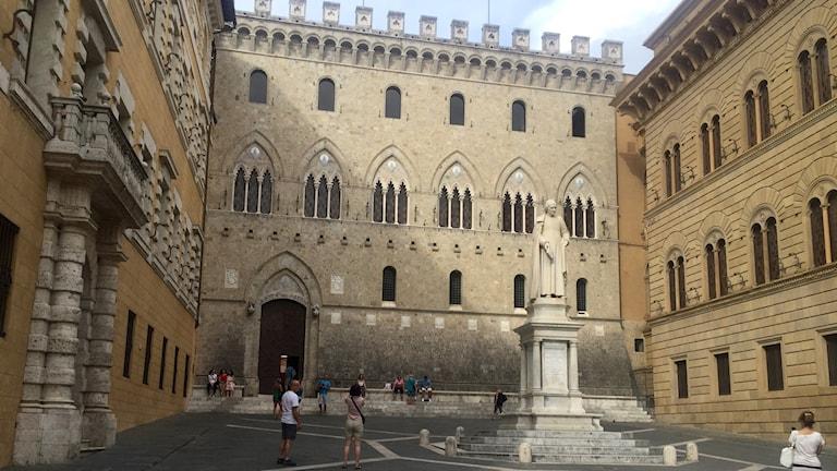 Banken Monte dei Paschi i Siena