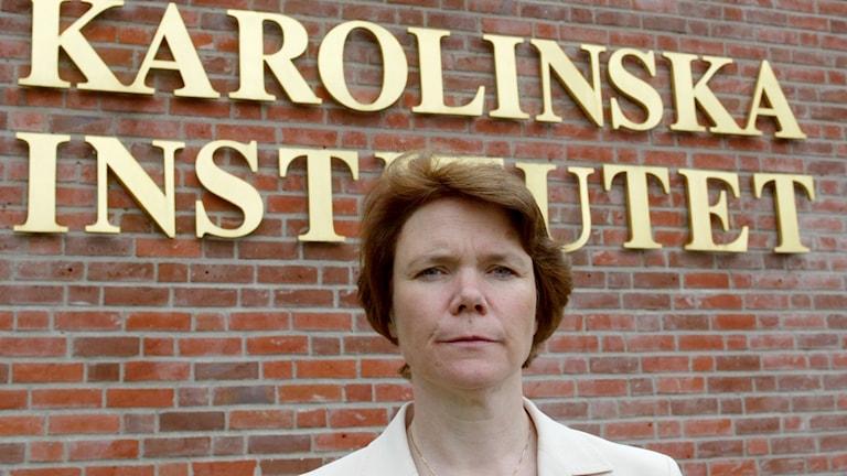 Harriet Wallberg JO-anmäler Karolinska Institutet.