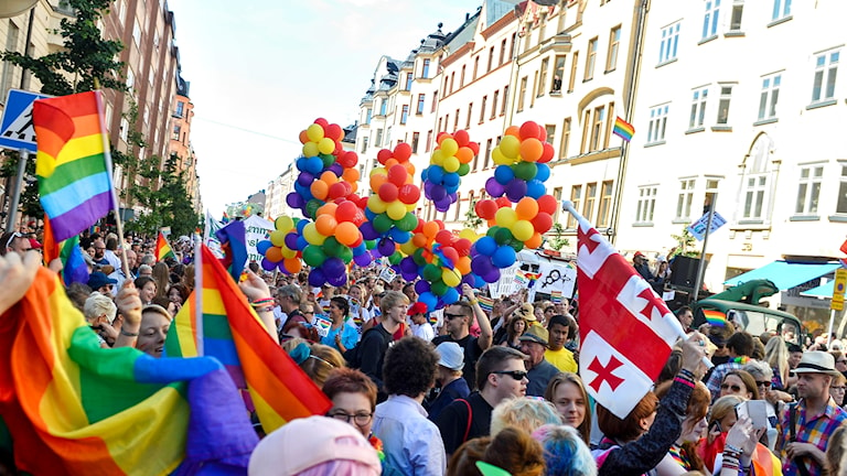 Pridefestival.