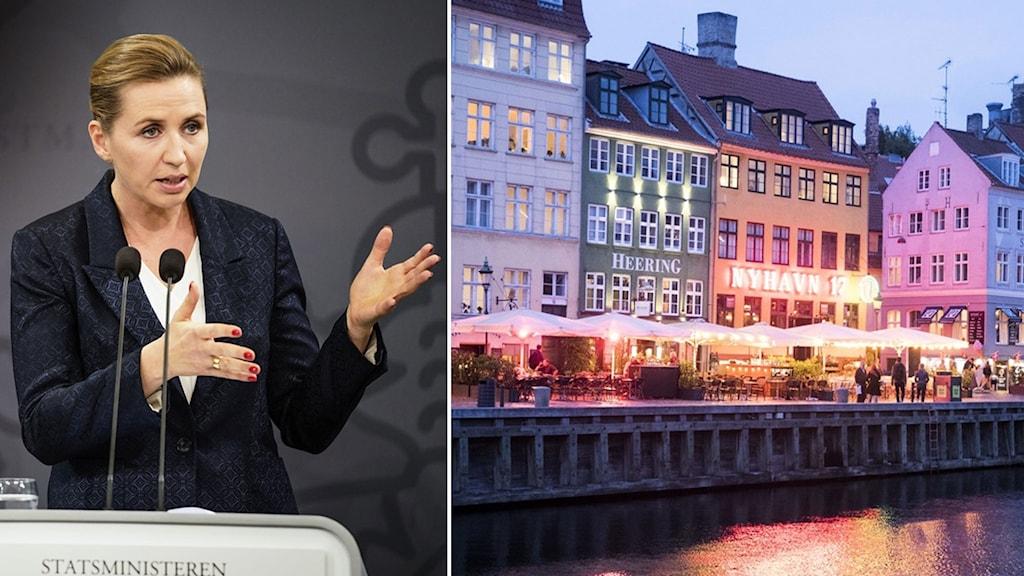 Mette Frederiksen. Nyhavn.