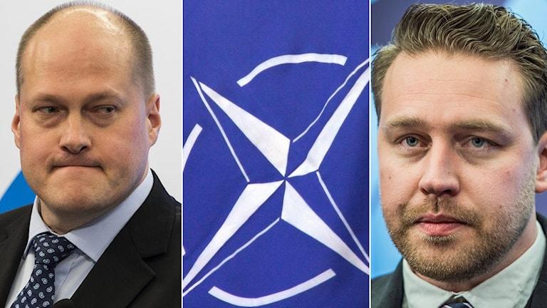 Inställningen till Nato splittrar Sverigedemokraterna.