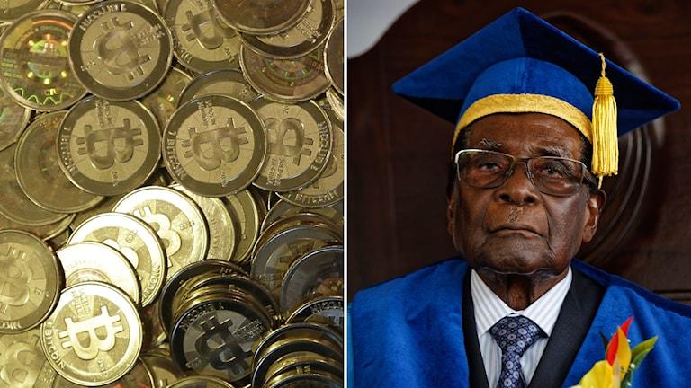 Bitcoin har rusat i Zimbabwe efter kuppen.