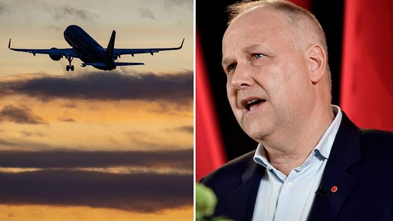Vänsterpartiet partiledare Jonas Sjöstedt