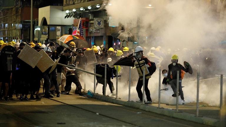 Protester Hongkong