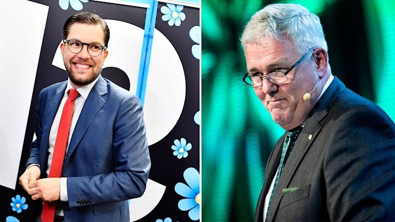Jimmy Åkesson och Anders W Jonsson.