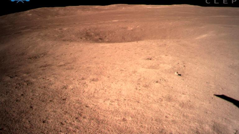 Första bilden från månens baksida