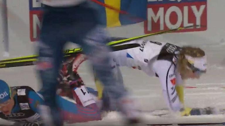 Nilsson föll i semin - missar final