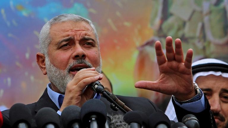 Hamas i Gazas nuvarande ledare Ismail Haniyeh ersätts av Yahya Sinwar och väntas nu bli Hamas högste ledare.