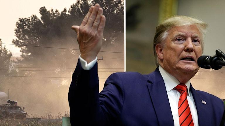 Trupper drar sig tillbaka  – Trump försvarar beslutet