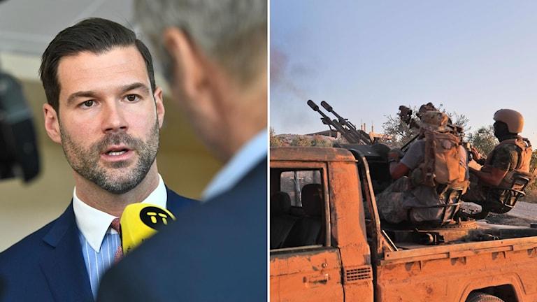Moderaternas Johan Forssell och al Qaeda-anknutna