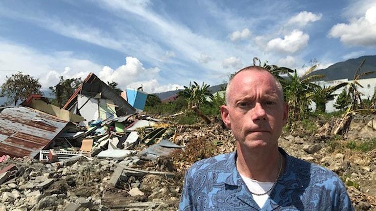 Peder Gustafsson i Palu Indonesien Sulawesi