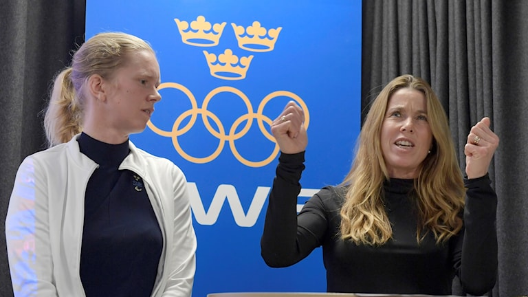 Maja Reichard och Magdalena Forsberg är två av de nya ambassadörerna för Sveriges olympiska kommittés kampanj för OS och Paralympics i Stockholm 2026.