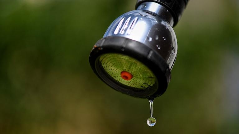 Fortsatt vattenbrist