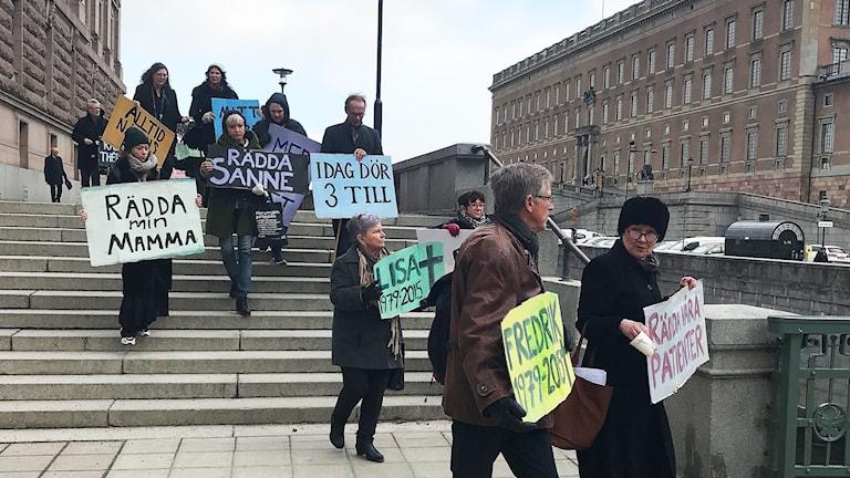 6 000 demonstrerade motvård av psykisk ohälsa