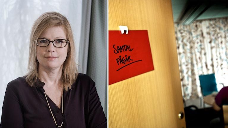 Liberalernas Anna Starbrink.