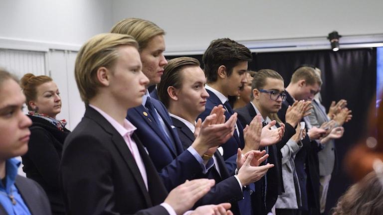 SD:s ungdomsförbund Ungsvenskarna.