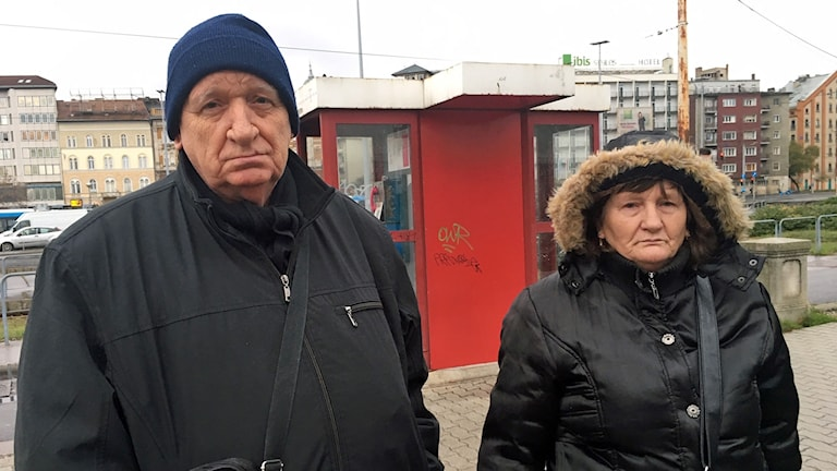 Budapestborna Janos Steiner och hans fru.