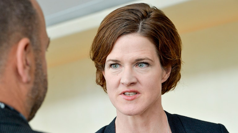 Moderaternas partiledare Anna Kinberg Batra