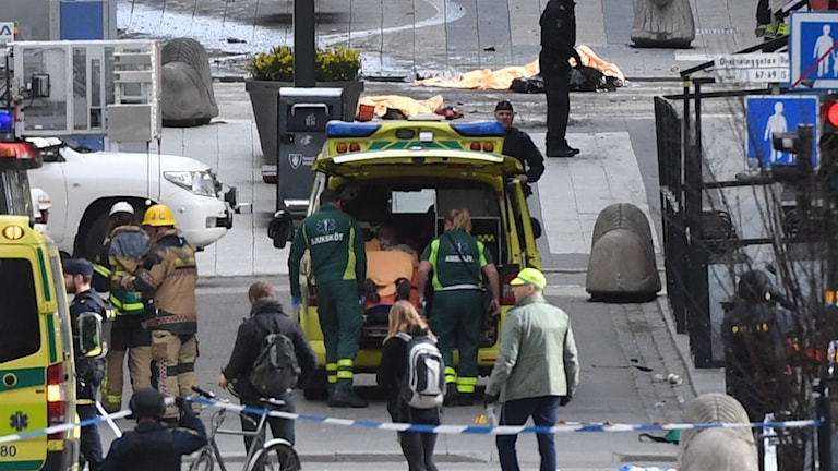 Ambulans centrala Stockholm