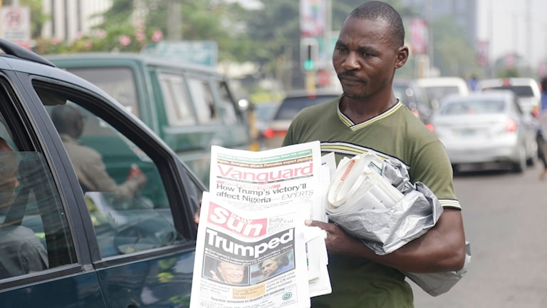 Donald Trump har under presidentvalskampanjen specifikt uttalat sig negativt om nigerianer i USA