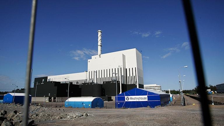 Kärnkraftsverket Oskarshamn. Foto: Paul Madej/TT.