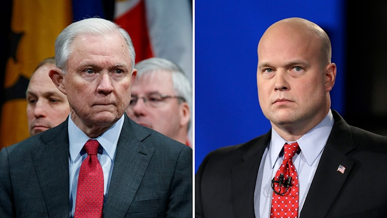 Jeff Sessions och Matthew Whitaker.