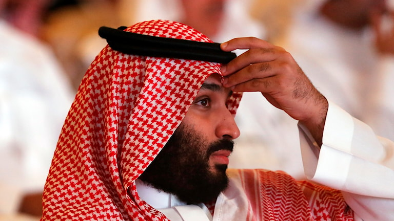 Saudiarabiens kronprins, Mohammed bin Salman.