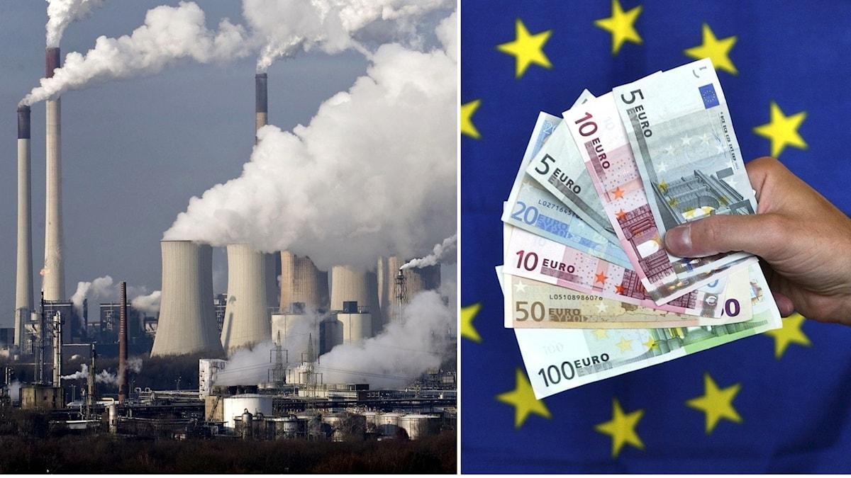 Utsläpp och Eu-pengar