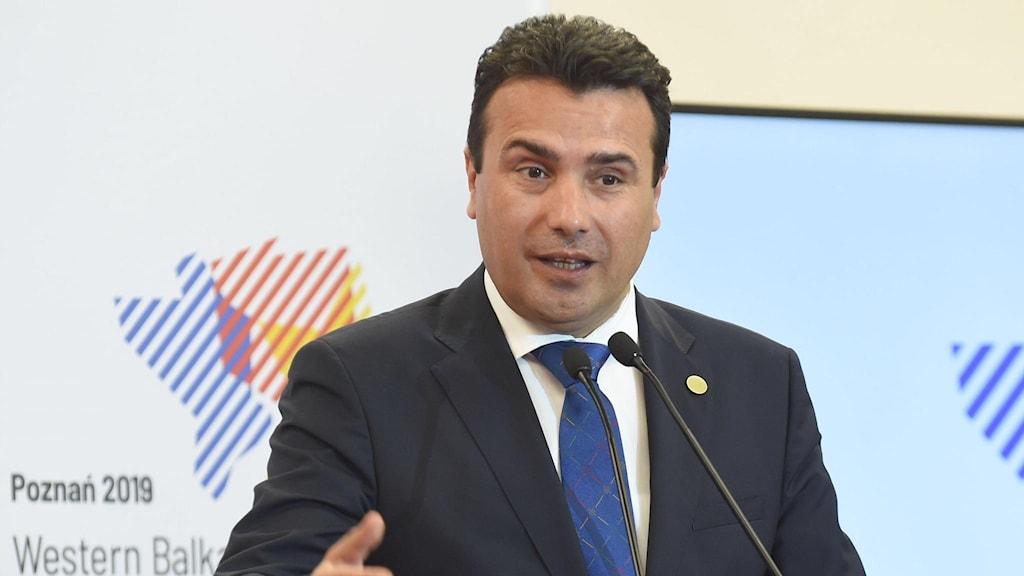 Zoran Zaev, premiärminister i Nordmakedonien