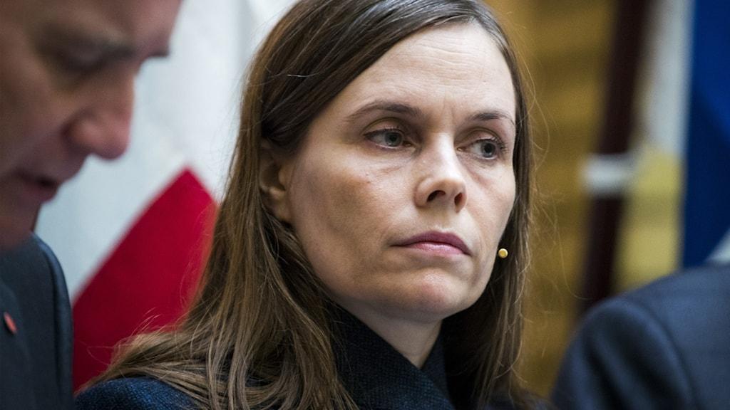 Islands statsminister Katrín Jakobsdottir.
