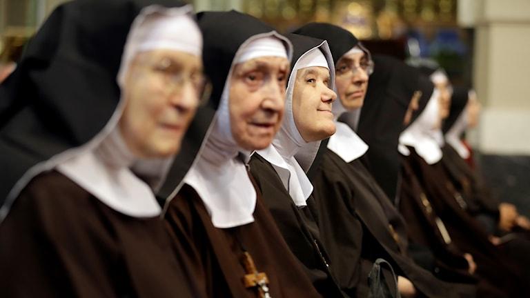 Påven erkänner sexuella övergrepp mot nunnor
