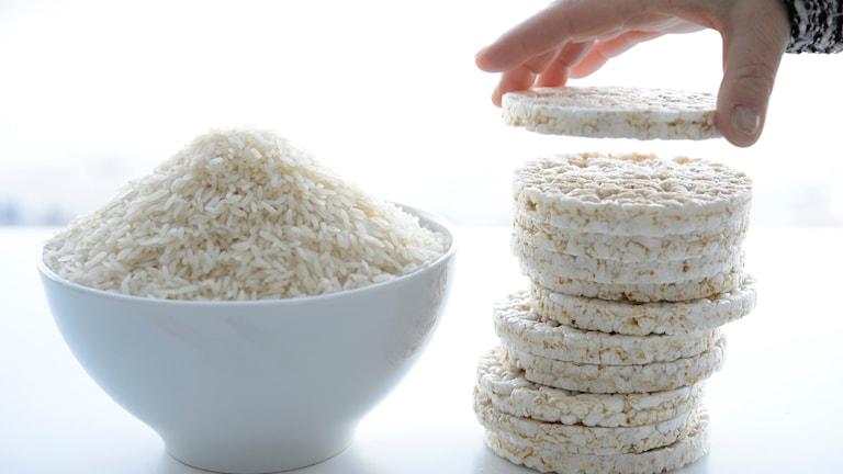 Mest arsenik i ekologiskt ris