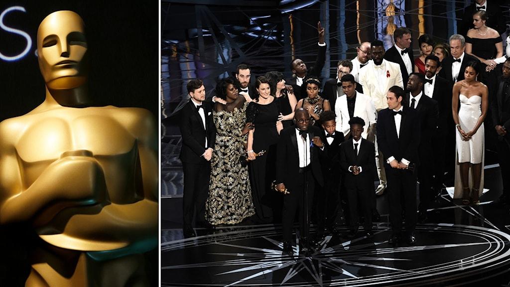 Filmen Moonlight kammade hem statyetten för bästa film på Oscarsgalan 2017.