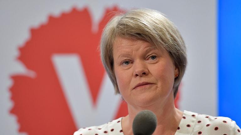 Ulla Andersson, ekonomisk-politisk talesperson för Vänsterpartiet.
