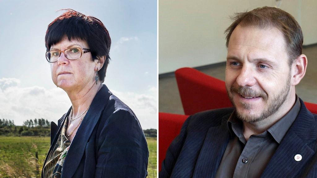 Pia Almström och Tomas Kronståhl
