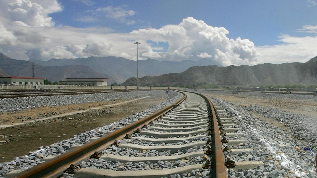 Järnväg i Kina.