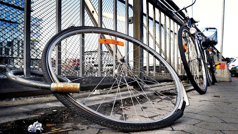 Trasiga cyklar