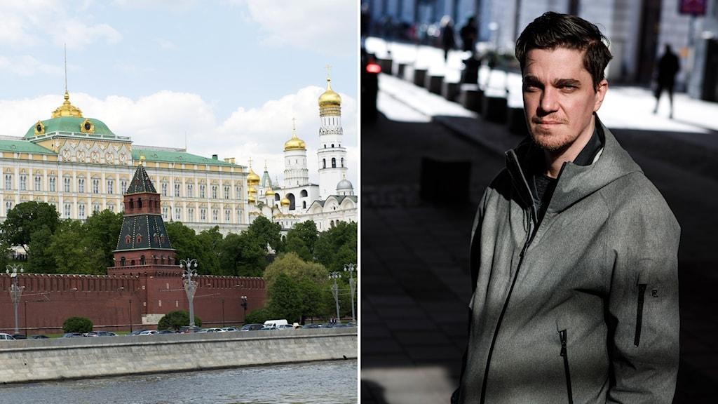 Kreml i Moskva/Martin Kragh