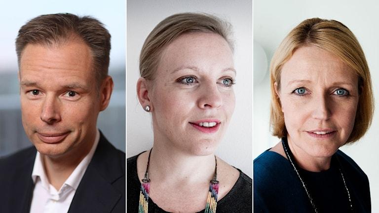 Fredrik Persson, tillfällig ordförande efter Leif Östling ska bli ordinarie, och Svenskt näringsliv ska också få en ny vd. Det talas om att det skulle kunna bli Maria Rankka eller Elisabeth Thand Ringqvist.