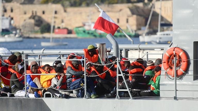 Arkivbild från Malta.