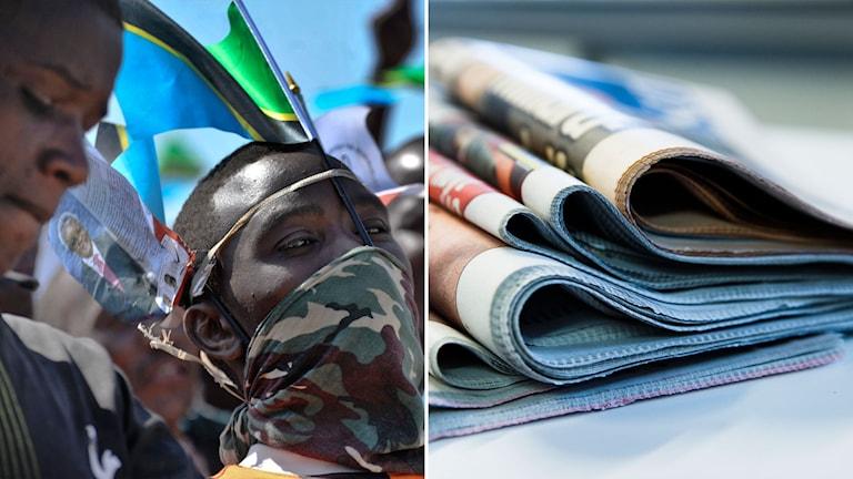 Press- och mötesfriheten har minskat i Tanzania
