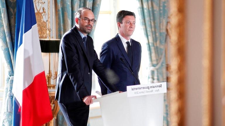Premiärminister Édouard Philippe