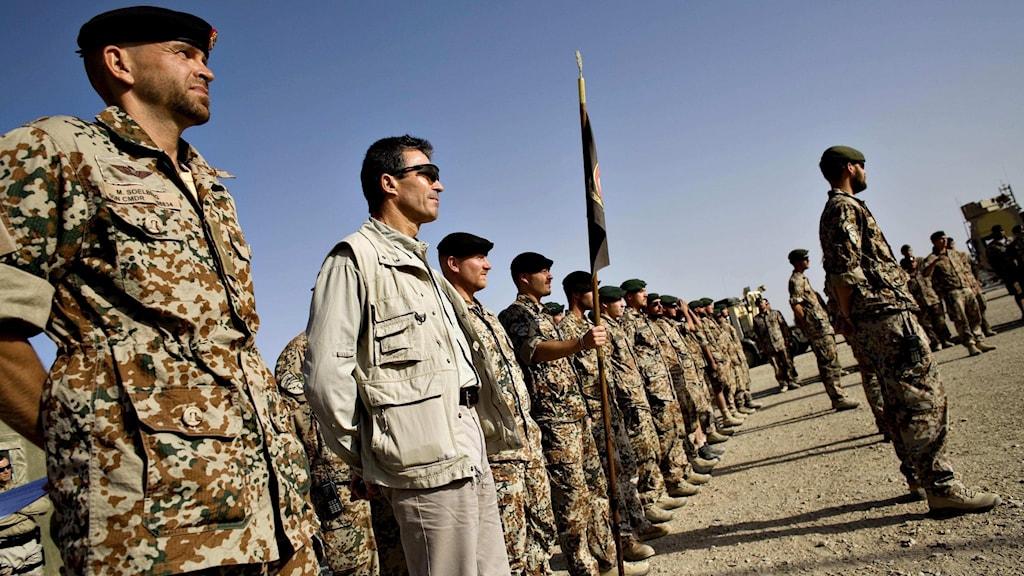 Danska soldater i Afghanistan (arkivbild från 2008)