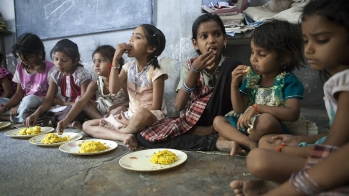 Barn i Indien