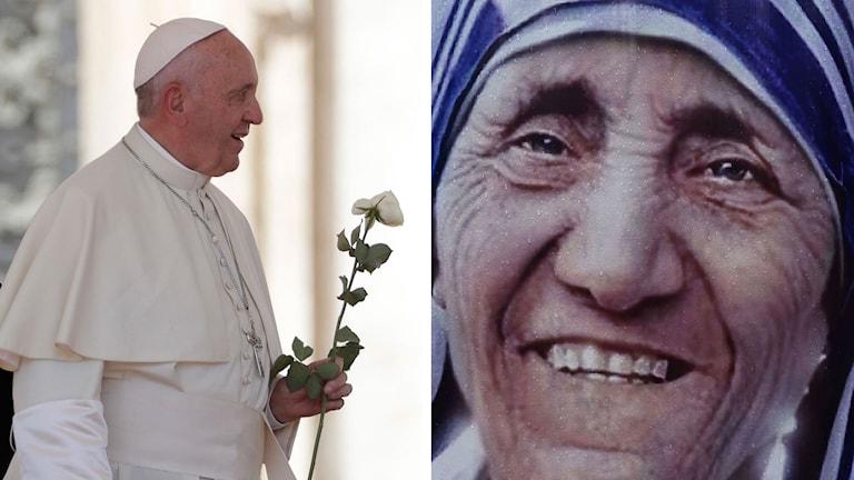 Split Påve Franciskus Moder Teresa