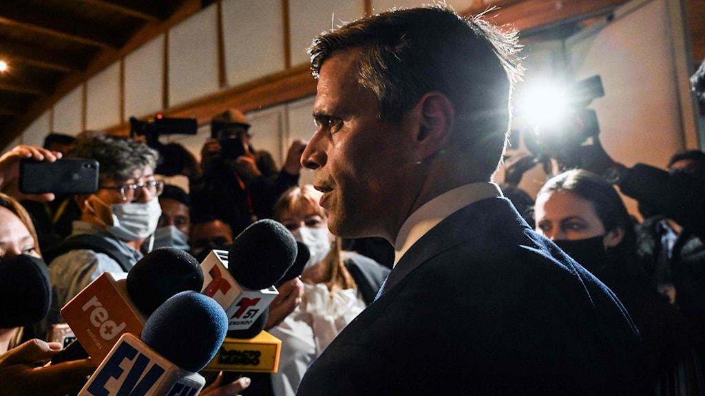 Oppositionsledaren Leopoldo Lopez