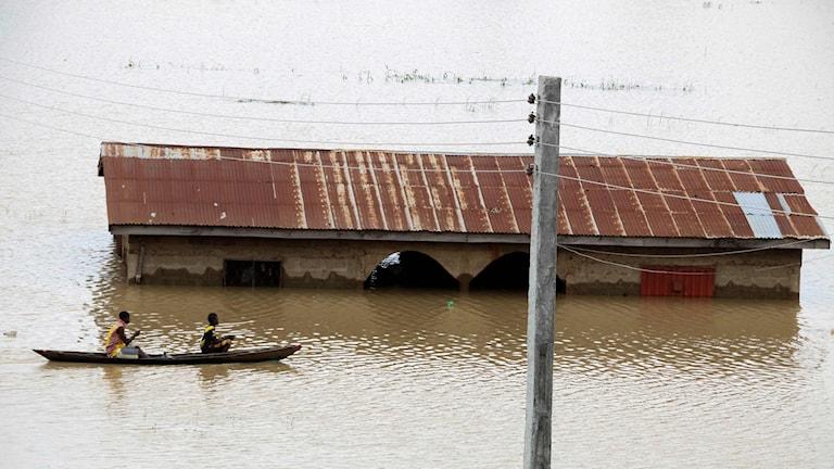 Nigeria översvämning Lokoja
