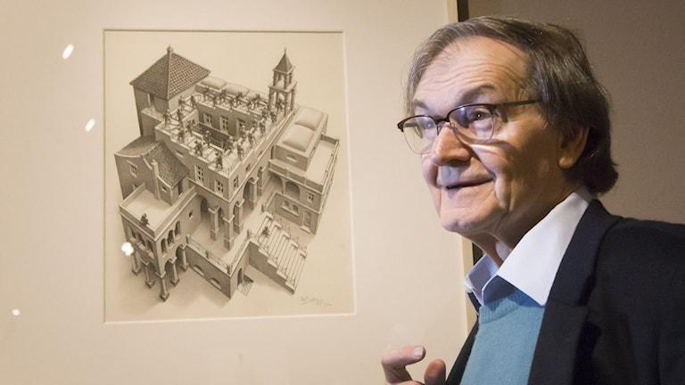 Nobelpristagaren Roger Penrose.